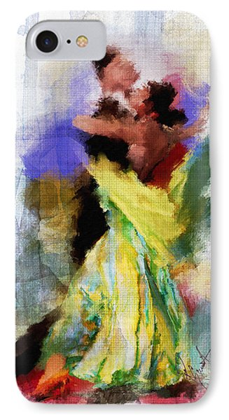 IPhone Case featuring the painting The Dance by Robert Smith