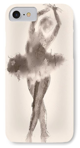 The Dance IPhone Case by Steve K