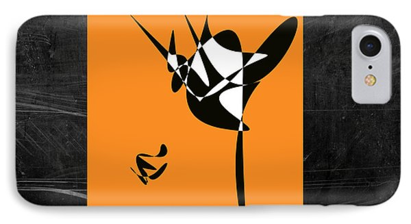 IPhone Case featuring the digital art The Dancer by Karo Evans