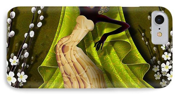 The Dancer V3 Phone Case by Bedros Awak