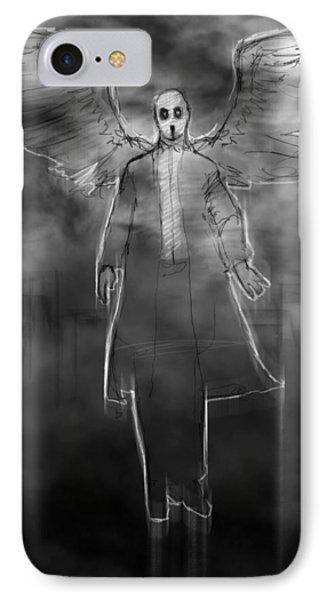The Dark Angel IPhone Case by H James Hoff