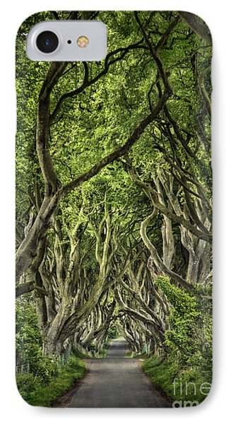The Dark Hedges IPhone Case