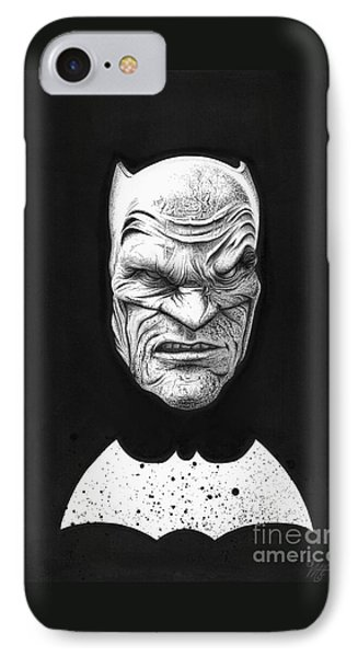The Dark Knight IPhone Case by Wave