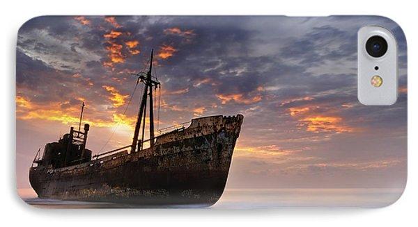The Dark Traveler II IPhone Case
