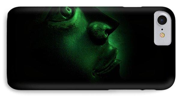 The Darkest Hour Cyan Phone Case by David Dehner