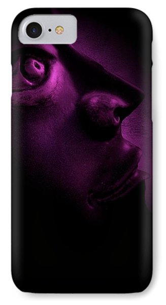 The Darkest Hour - Magenta Phone Case by David Dehner