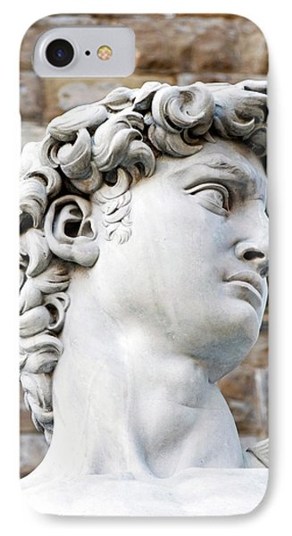 The David Of Michelangelo (16th Century IPhone Case by Nico Tondini