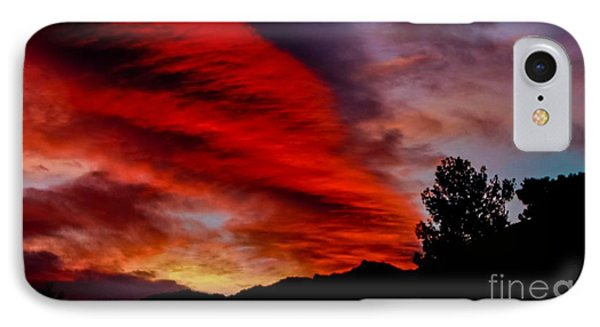 The Day Is Done IPhone Case by Angela J Wright