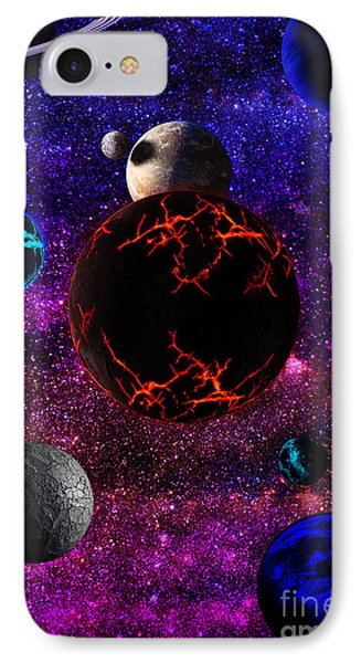 The Dead Solar System  IPhone Case by Naomi Burgess