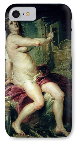 The Death Of Dido IPhone Case by Rubens