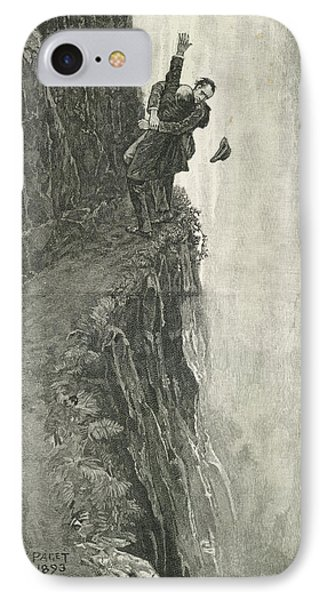 The Death Of Sherlock Holmes IPhone Case by British Library