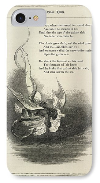 The Demon Lover IPhone Case by British Library