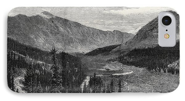 The Denver And Rio Grande Railway, New Mexico IPhone Case