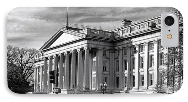 The Department Of Treasury IPhone Case by Olivier Le Queinec