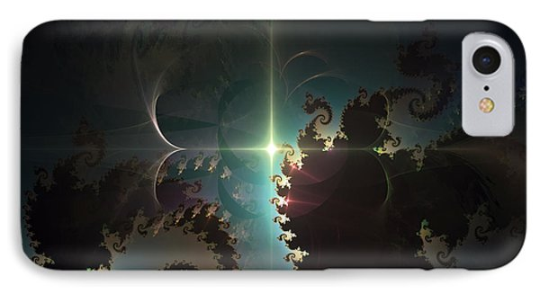 IPhone Case featuring the digital art The Depths by Arlene Sundby