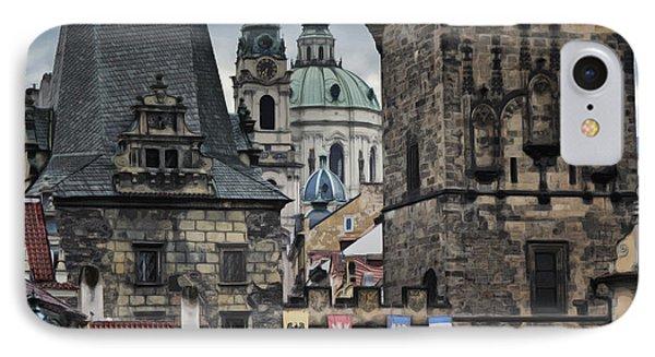 The Depths Of Prague Phone Case by Joan Carroll