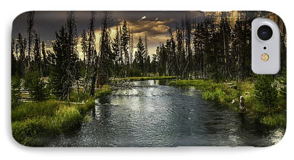 The Deschutes River IPhone Case by Jean-Jacques Thebault