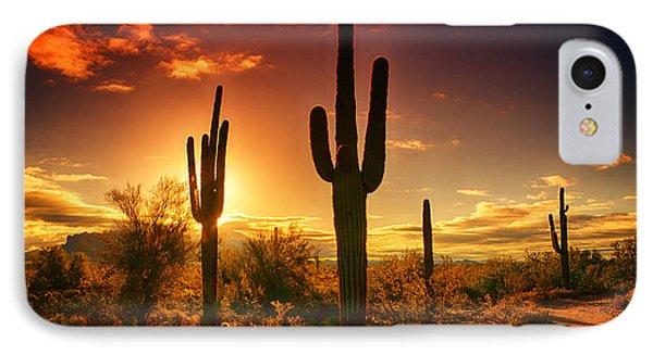 The Desert Awakens  IPhone Case by Saija  Lehtonen
