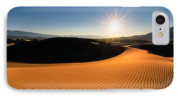IPhone Case featuring the photograph The Desert Sun by Dan Mihai