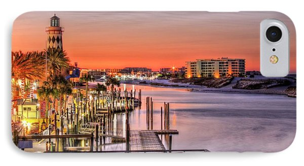 The Destin Harbor Walk IPhone Case