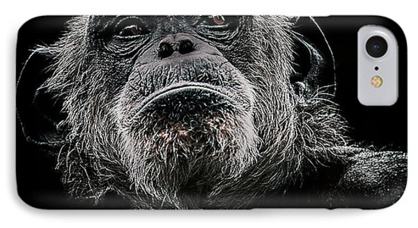 Chimpanzee iPhone 7 Case - The Dictator by Paul Neville