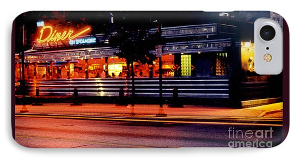 The Diner On Sycamore Phone Case by Gary Gingrich Galleries