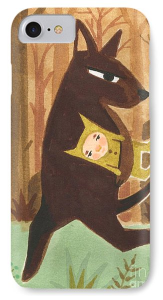 The Dingo Stole My Baby Phone Case by Kate Cosgrove