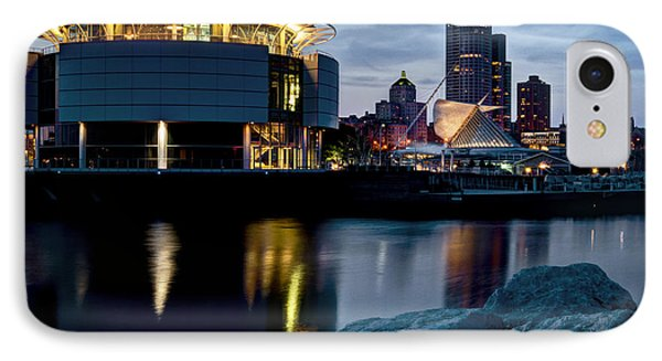 The Discovery Of Miwaukee IPhone Case by Deborah Klubertanz
