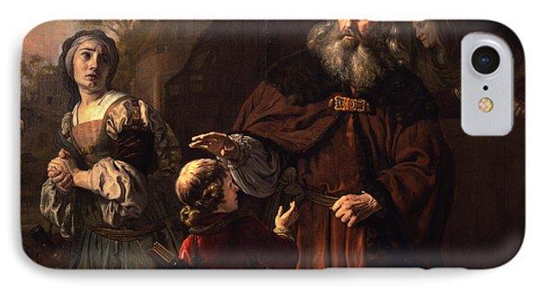 The Dismissal Of Hagar, 1650 IPhone Case