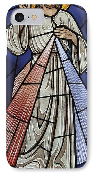 The Divine Mercy Phone Case by Gilroy Stained Glass