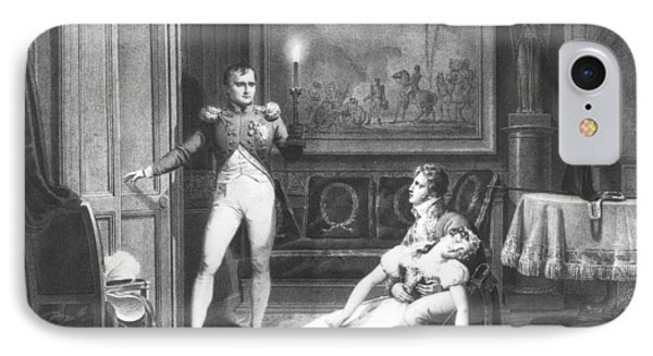 The Divorce Of Napoleon I 1769-1821 And Josephine Tascher De La Pagerie 1763-1814 30th November IPhone Case by Charles Abraham Chasselat