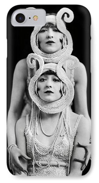 The Dolly Sisters IPhone Case by Underwood Archives