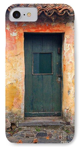 IPhone Case featuring the photograph The Door by Bernardo Galmarini
