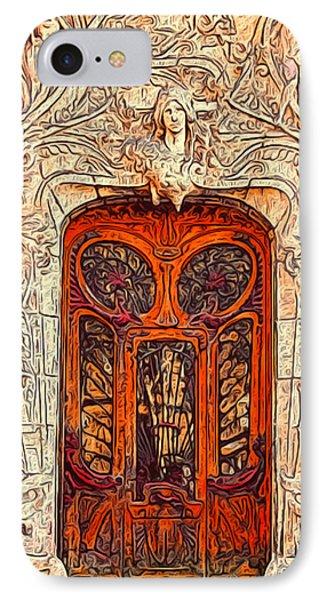 The Door Phone Case by Jack Zulli