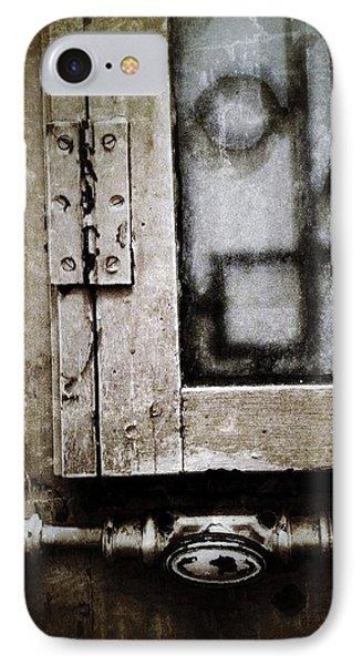 The Door Of Belcourt Phone Case by Natasha Marco