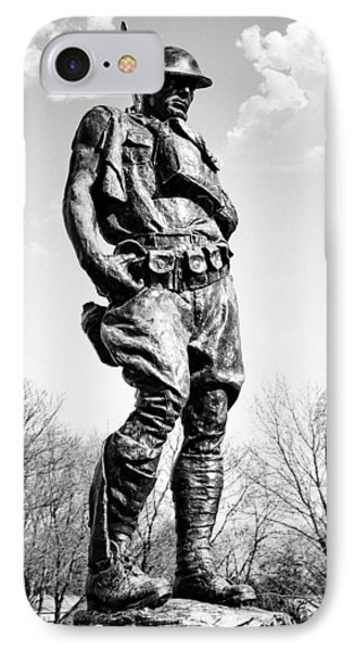 The Doughboy - Tribute To The American Expeditionary Forces Of World War 1 Phone Case by Gary Heller