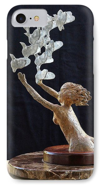 The Dove Maiden IPhone Case