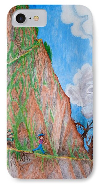 The Downward Path IPhone Case