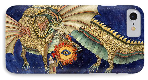 The Dragon King IPhone Case by Lynda Hoffman-Snodgrass