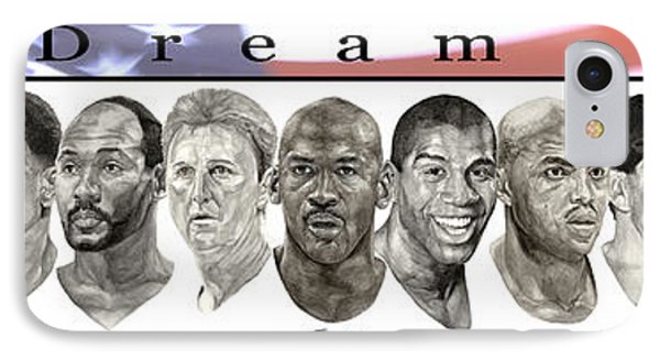the Dream Team IPhone Case