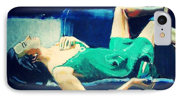IPhone Case featuring the painting The Dreamer   by Judy Kay