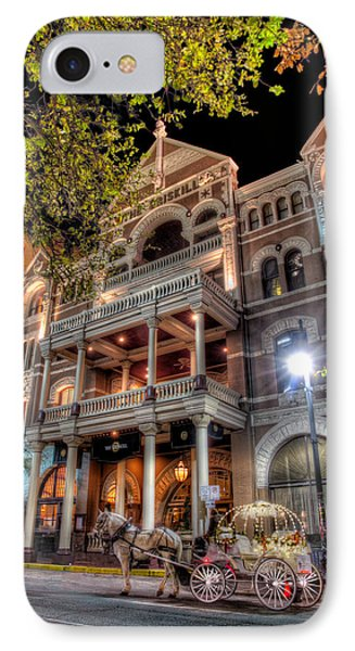 The Driskill Hotel IPhone Case by Tim Stanley