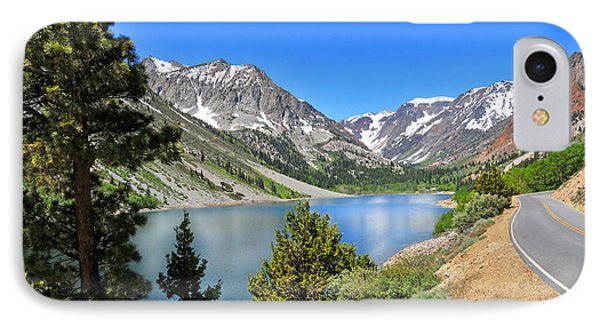 The Drive By Lundy Lake Phone Case by Lynn Bauer