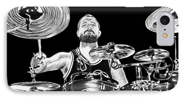 Drummer IPhone Case
