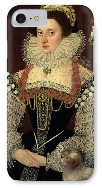 The Duchess Of Chandos Frances, Lady Chandos Inscribed IPhone Case