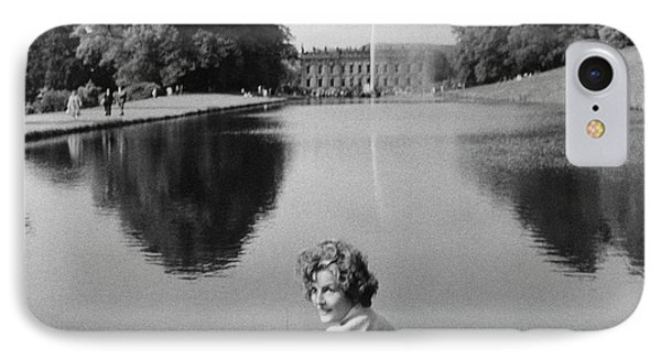 The Duchess Of Devonshire At Devonshire Palace IPhone Case by Cecil Beaton