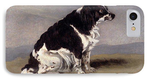 The Duchess Of Yorks Spaniel Signed And Dated IPhone Case