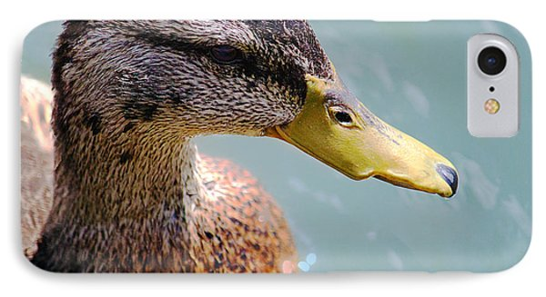 The Duck IPhone Case by Milena Ilieva
