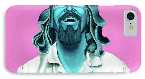 The Dude IPhone Case by Ellen Patton