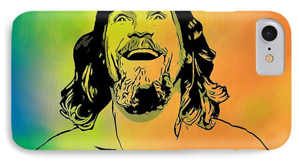 The Dude Pop Art IPhone Case by Dan Sproul